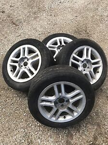 4 195/60/R15 Tires and Rims