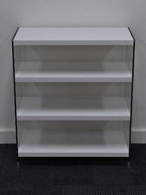 Computer rack, mount 4 tier stand for PC / AV component rack