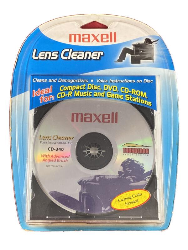 MAXELL(R) 190048 Maxell(R) CD/CD-ROM Laser Lens Cleaner