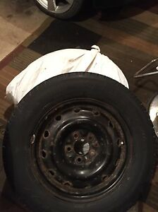 """Set of 16"""" winter tires with rims"""