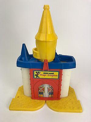Vintage Mickey Mouse's Magic Kingdom Weebles Castle Playset 1977 Hasbro Disney