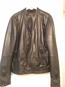 selling my XL diesel leather jacket $250 obo
