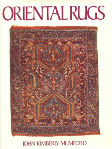 Antique Oriental Rugs - Materials Designs Weavings Origins / Scarce Illust. Book