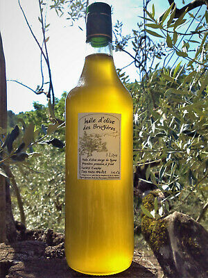 Huile d'olive de Nyons extra vierge direct producteur 1 litre