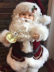 Deluxe Light up/Moveable Santa