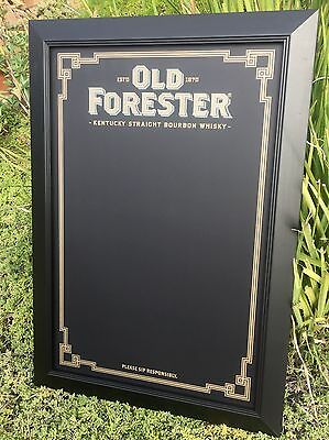 "Old Forester Kentucky Straight Bourbon Whiskey Beer Bar Chalkboard ""New"""