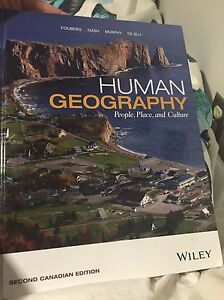 Human Geography- People, Place and Culture