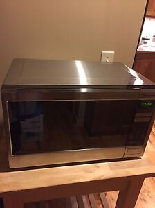 Awesome mint condition stainless steel microwave!