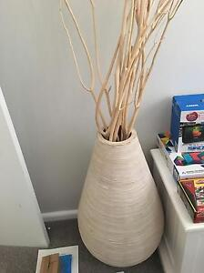 Wicker ornamental vase Narraweena Manly Area Preview