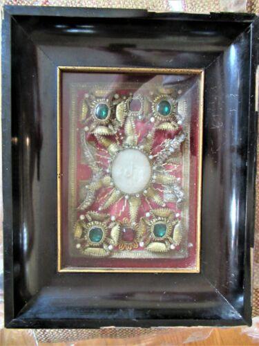 Large Reliquary To Saint Victoria Saint Aurelia + Two Additional
