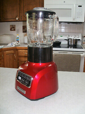 👉KitchenAid 5 SPEED BLENDER KSB755CA0 w/ 0.9 HORSE MOTOR + 19 PAGE MANUAL COPY