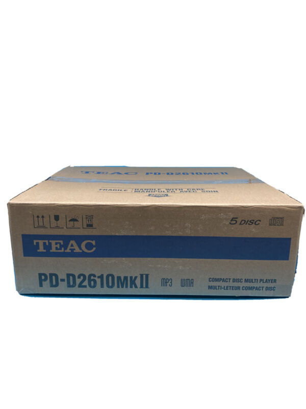 BRAND NEW! TEAC PD-D2610MKII 5 Disc Carousel CD Changer with MP3 WMA with Remote