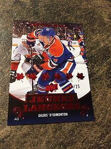 Taylor Hall 10-11 upper deck young gun French /25 very rare