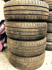 195/50R15 Good ride set of 4 nearly new Tyres. Summer Hill Ashfield Area Preview