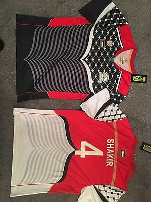 Brand New 2016/17 Palestine Football Shirt/Jersey, Black, White or Mixed image