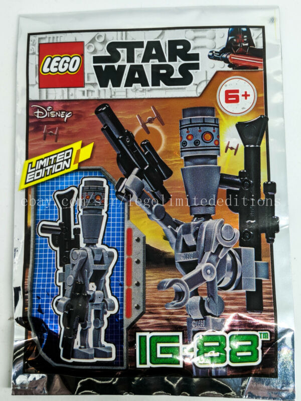 Lego Star Wars IG-88 *NEW* from set 75213 sw968