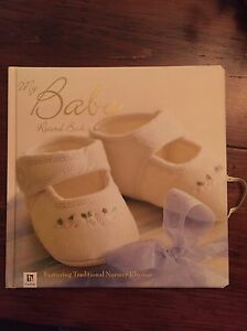 Baby Record Book - NEW