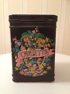 Antique Swedish CLOETTA Cocoa Tin Mälmo Manufacturer c1873-1901