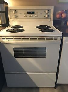 Convection self cleaning electric stove