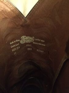 Justin's cow boy boots-men's size 10.5 London Ontario image 6
