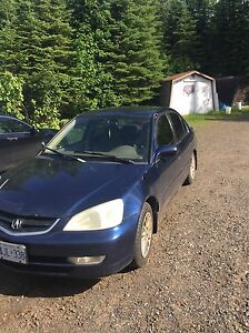 Acura el 1.7 plus parts car