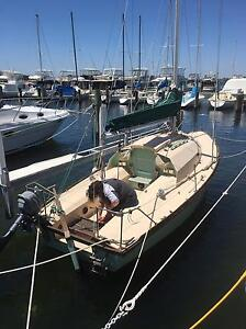 Hartley 6.5 m yacht in pen at claremont yacht club Claremont Nedlands Area Preview