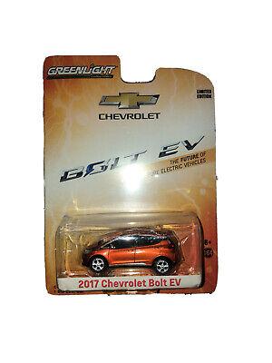 Greenlight Collectibles Chevrolet 2017 Bolt EV Orange Burst Metallic GGQ 1:64