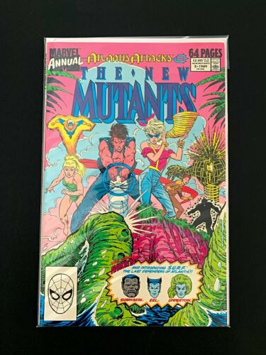 THE NEW MUTANTS ANNUAL #5 MARVEL COMICS 1989 NM+