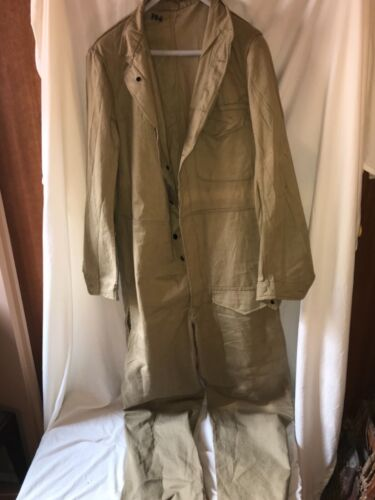 WW2 Swedish Army Tankers Coveralls