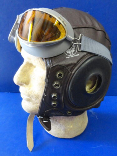USAAF TYPE A-11 FLYING HELMET-NEW CONDITION- LARGE