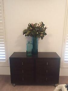 DOMAYNE Walnut 6 Drawer CHEST OF DRAWERS. Botany Botany Bay Area Preview