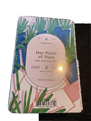 Franklin Covey Compact Her Point Of View Daily Ring-bound Planner Jul 21-jun 22