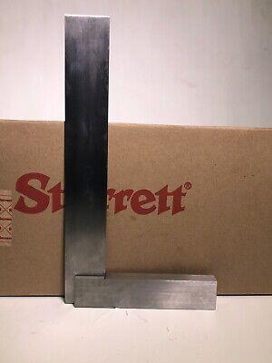 Starrett 20-12 Hardened Steel Master Precision Square 7 Beam Length 12 Blade
