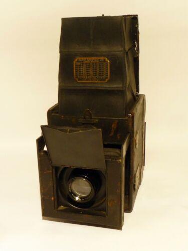 Collectible Auto Graflex Junior 2 1/4 x 3 1/4 Bausch & Lomb Tessar 1c Lens