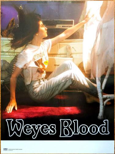 WEYES BLOOD Titanic Rising 2019 Ltd Ed HUGE RARE Tour Poster +FREE Indie Poster!