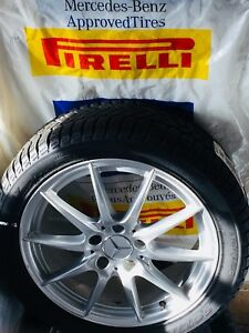 Winter Tires/Rims Pirelli OEM Mercedes-Benz C300/CLA/B250