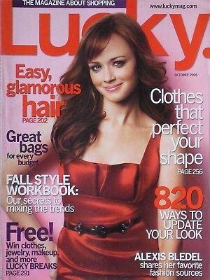 Alexis Bledel October 2006 Lucky Magazine
