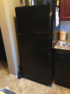 Black GE Fridge for sale