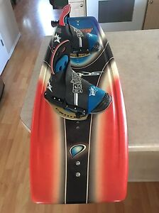 Liquid force wakeboard with bindings