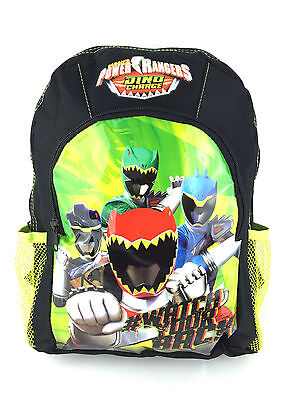 NEW OFFICIAL POWER RANGERS DINO CHARGE KIDS SPORTS BACKPACK RUCKSACK SCHOOL BAG