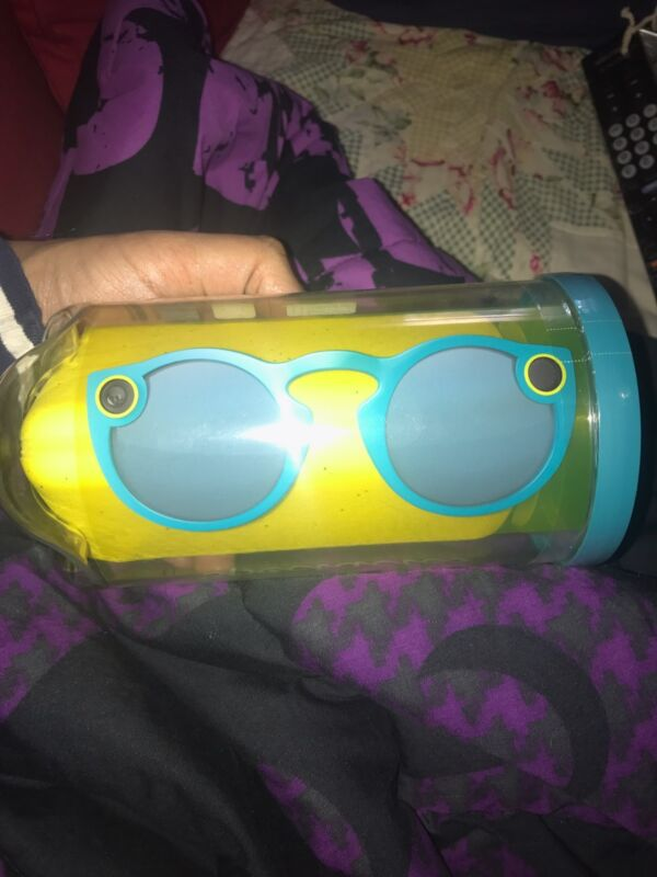 SNAPCHAT SPECTACLE GLASSES TEAL BLUE
