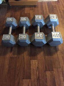 4x Dumbells