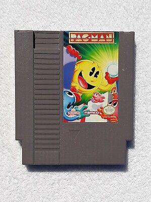 Pac-Man (Nintendo) 1993 Rare Namco version Tested!!! NES arcade video game