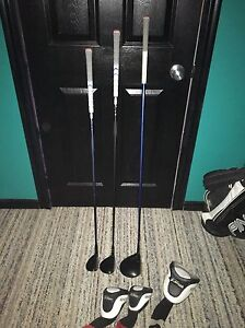 Titleist 910 right handed woods