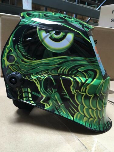 New TTH  Auto Darkening Welding Helmet+Grinding Hood Mask