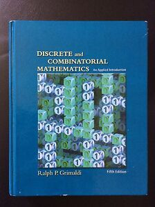 Discrete and Combinatorial Mathematics.