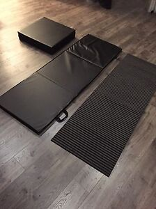 3 Exercise mats