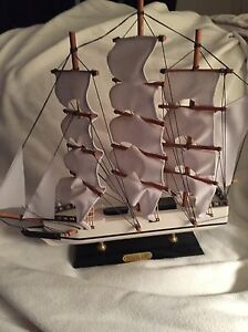 Whaling Ship Clipper 1846 Display Model Ship