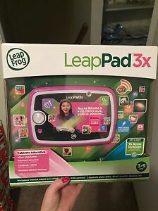Brand new LeapPad 3 (French language)