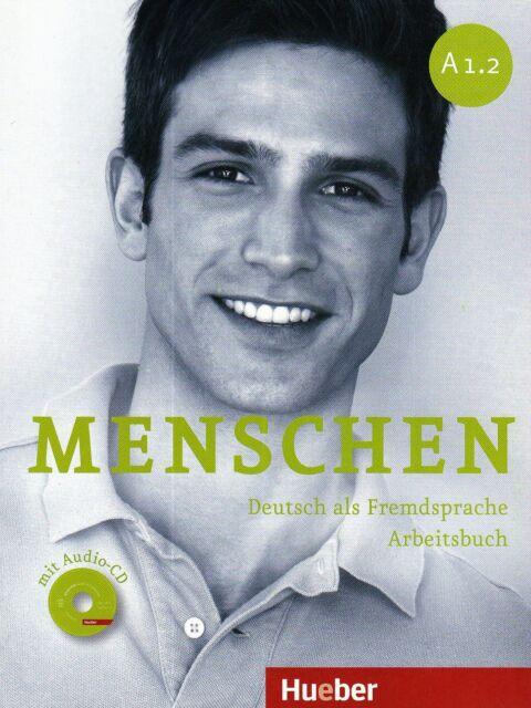 Hueber MENSCHEN A1.2 Deutsch als Fremdsprache ARBEITSBUCH mit AUDIO CD @New@
